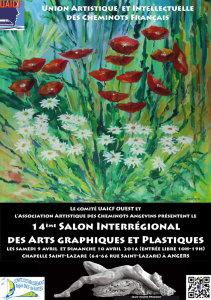 9 et 10 avril 2016 : exposition d'arts graphiques et plastiques à Angers