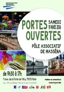 19 mars 2016 : Portes Ouvertes des associations de Masséna
