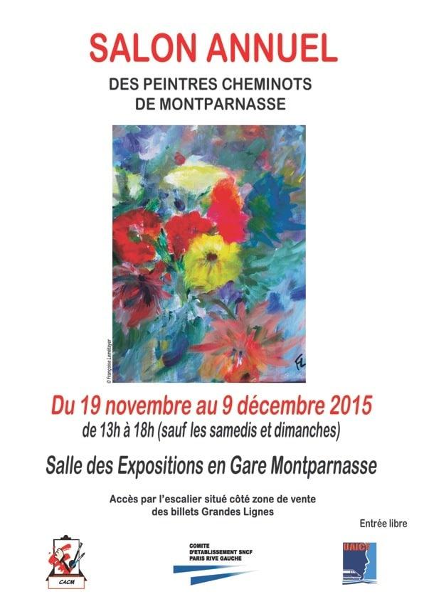 Salon de peinture des cheminots de Montparnasse