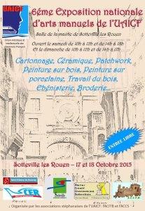 Le salon des arts créatifs à Sotteville-les-Rouen, c'est ce week-end !