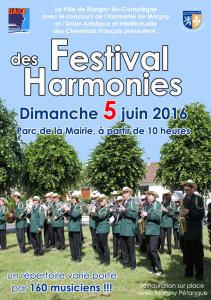 5 juin 2016 : festival des harmonies à Margny-lès-Compiègne