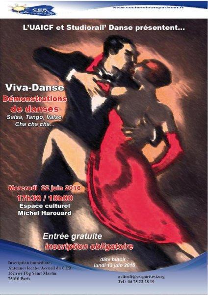 22 juin 2016 : démonstration de danses à Paris
