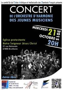 21/10/15 : concert de l'harmonie des jeunes musiciens de l'Est